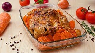 Курица, запеченная в вине - Рецепты от Со Вкусом