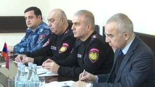 ԻԻՀ Իրավապահ ուժերի թմրանյութերի դեմ պայքարի  ոստիկանության պատվիրակությունը Հայաստանում