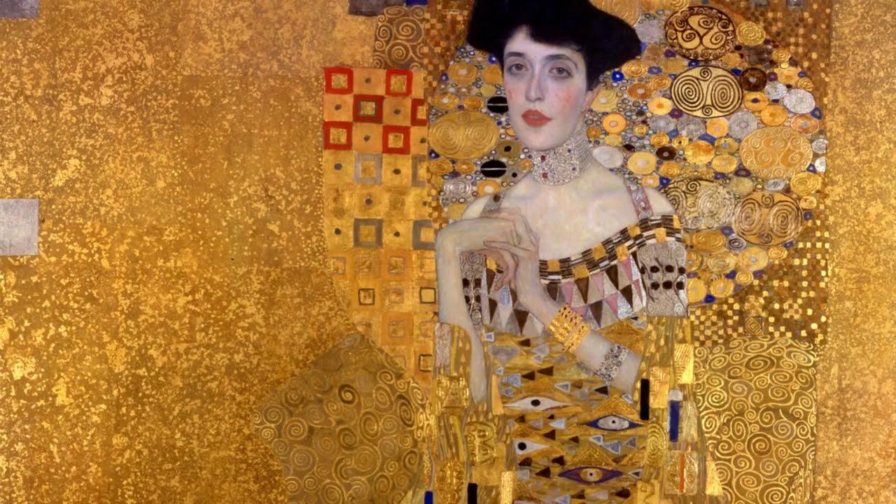 Gustav Klimt El Beso Obras Maestras De La Pintura Universal Youtube