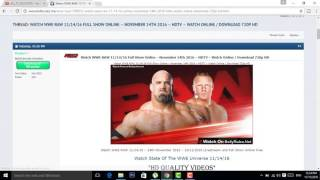 Video How To Download free wwe wristling latest show in hd 2017 urdu/hindi download MP3, 3GP, MP4, WEBM, AVI, FLV April 2018