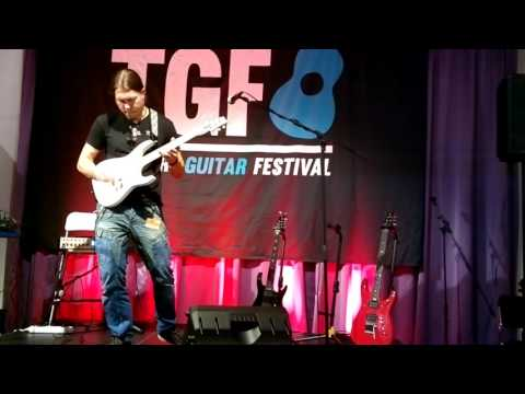 Samuli Federley Plays At TGF Stage