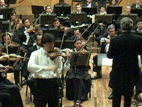 koh gabriel kameda concierto para violin Sibelius OSEM  (extracto)
