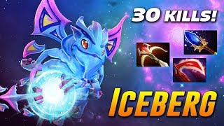 Iceberg Puck [30 KILLS!!!] Dota 2 Pro Gameplay