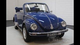 Volkswagen Beetle 1303 LS Cabriolet 1976  -VIDEO- www.ERclassics.com