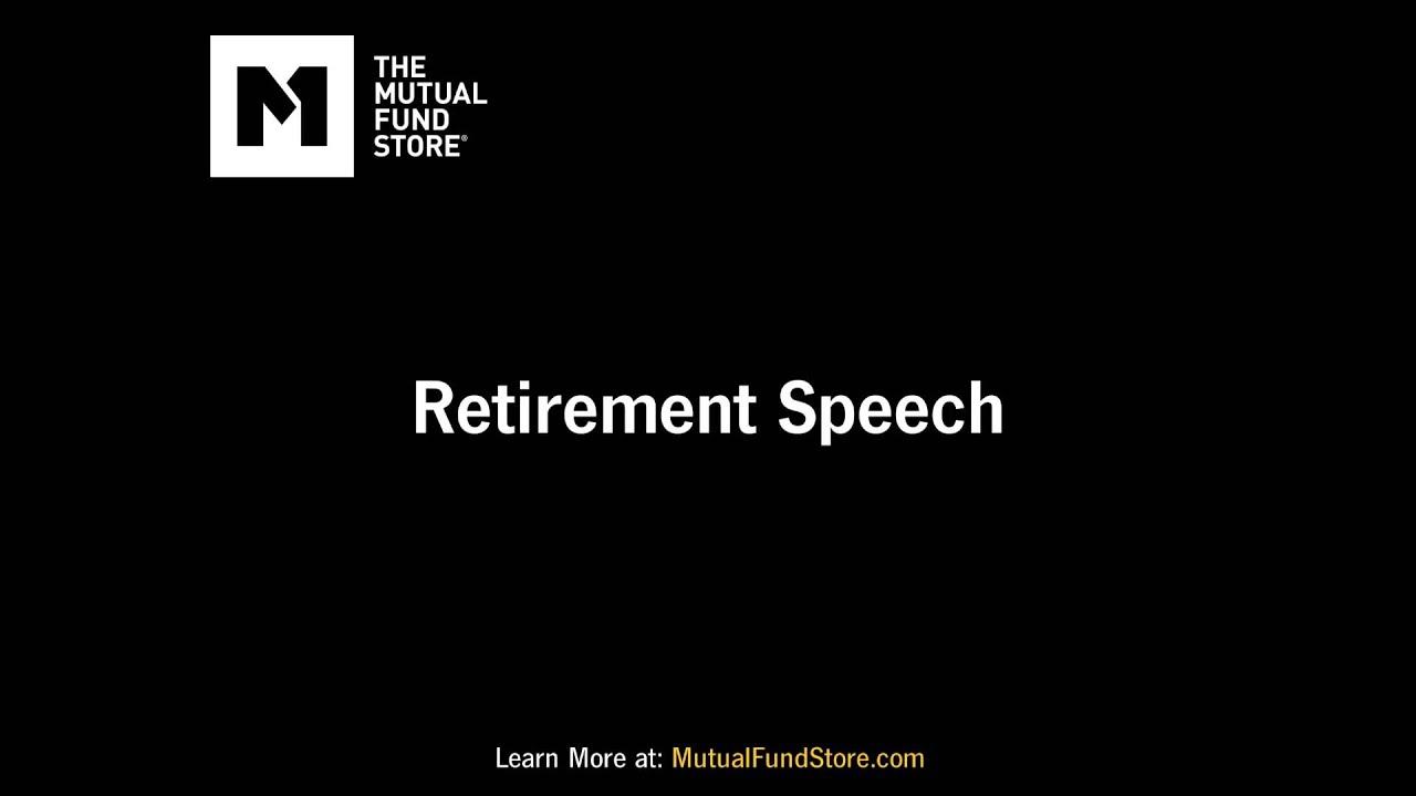 Retirement Speech Retirement Planning Funny Radio Commercials Youtube