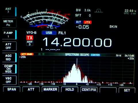 9K2GS Kuwait + VE3EN on 20m. 40 over signal (March 30, 2011)
