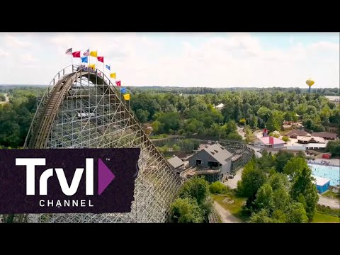 The Voyage Roller Coaster at Holiday World - Travel Channel