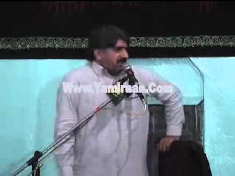 Zakir Ghazanfar Abbas Gondal (Shahdat Ameer Muslim a.s) Chan Shah Chrag Rawalpindi