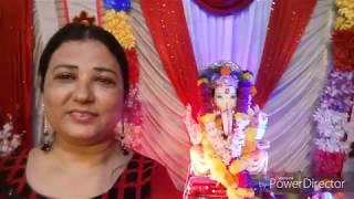 Divya vlogs/Ganapati puja vlog/Indian mom