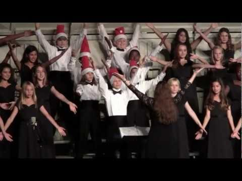 """""""You are a mean one Mr. Grinch"""" Manhattan Beach Middle School 2012 Winter Concert."""