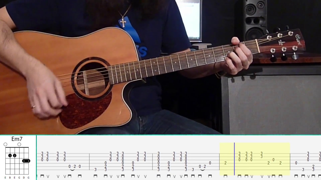 Pink Floyd - Wish You Were Here (Guitar Tutorial) - YouTube