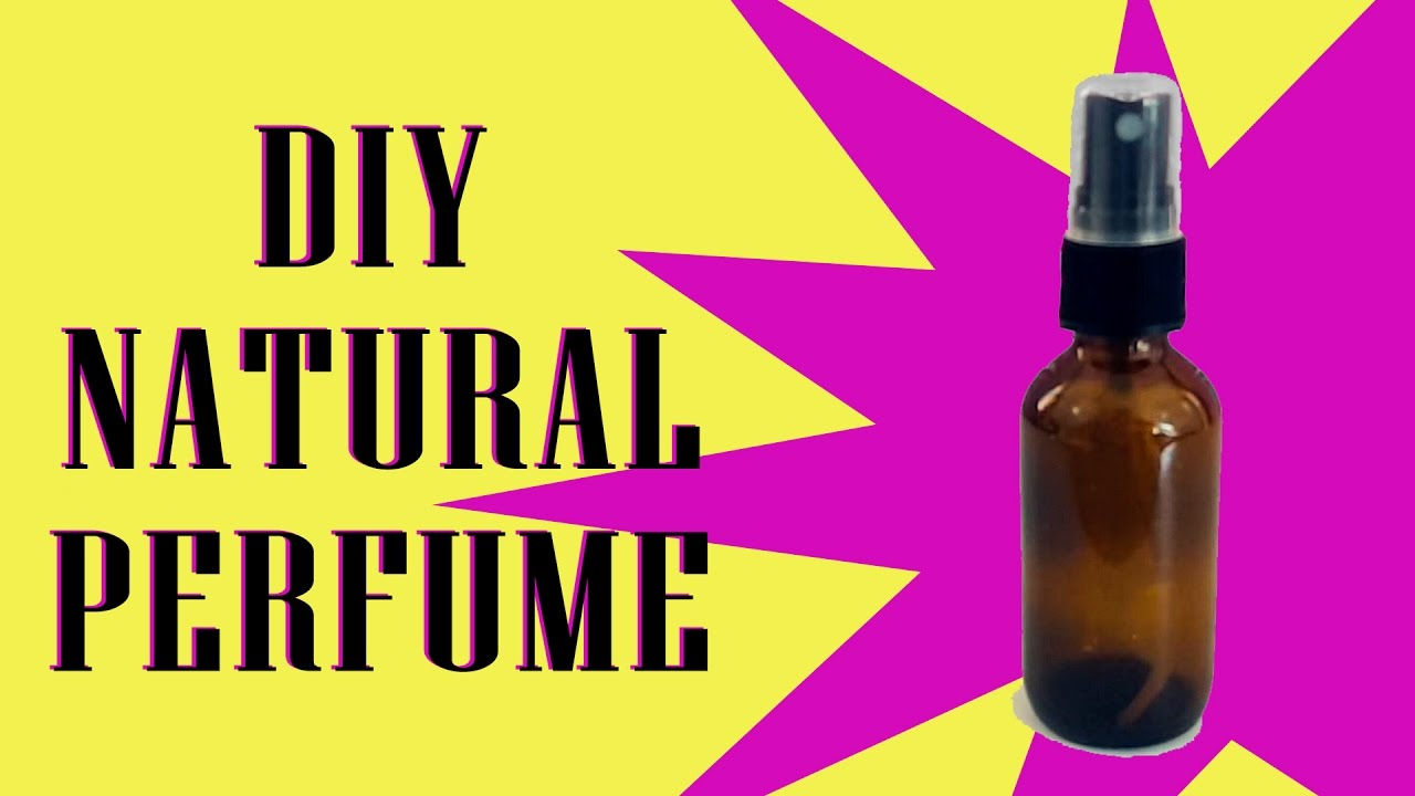 How To Make All Natural Perfume Without Alcohol