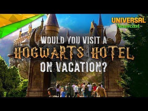 Hogwarts Castle Hotel Rumours - Universal Studios News 07/26/2017