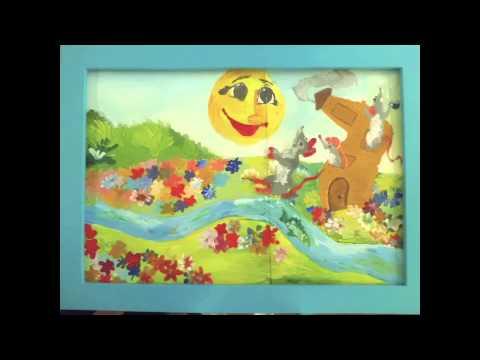 Чуковский скрюченная песня мультфильм