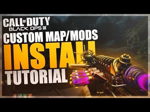 BO3 Custom Zombie Maps/Mods INSTALL TUTORIAL (PC Version)