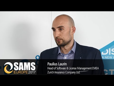 SAMS Europe 2017: Interview with Paulius Laurin, Zurich