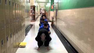 Queen of Peace Steps For Students Video 2015