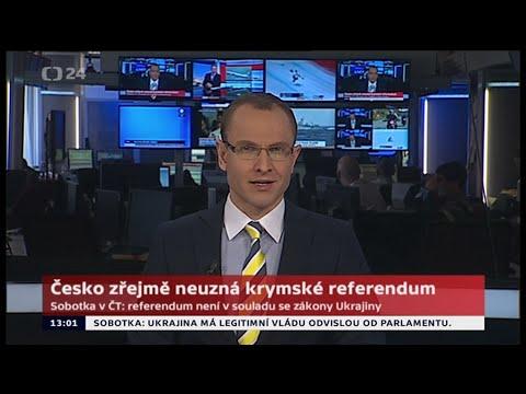 Czech TV News, 3/9/2014, Jan Zika