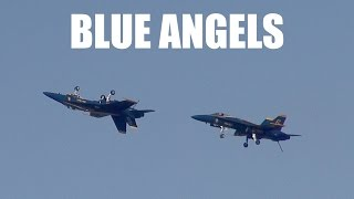 Blue Angels during Sunday of Fleet Week San Francisco 2015 (stabilized)