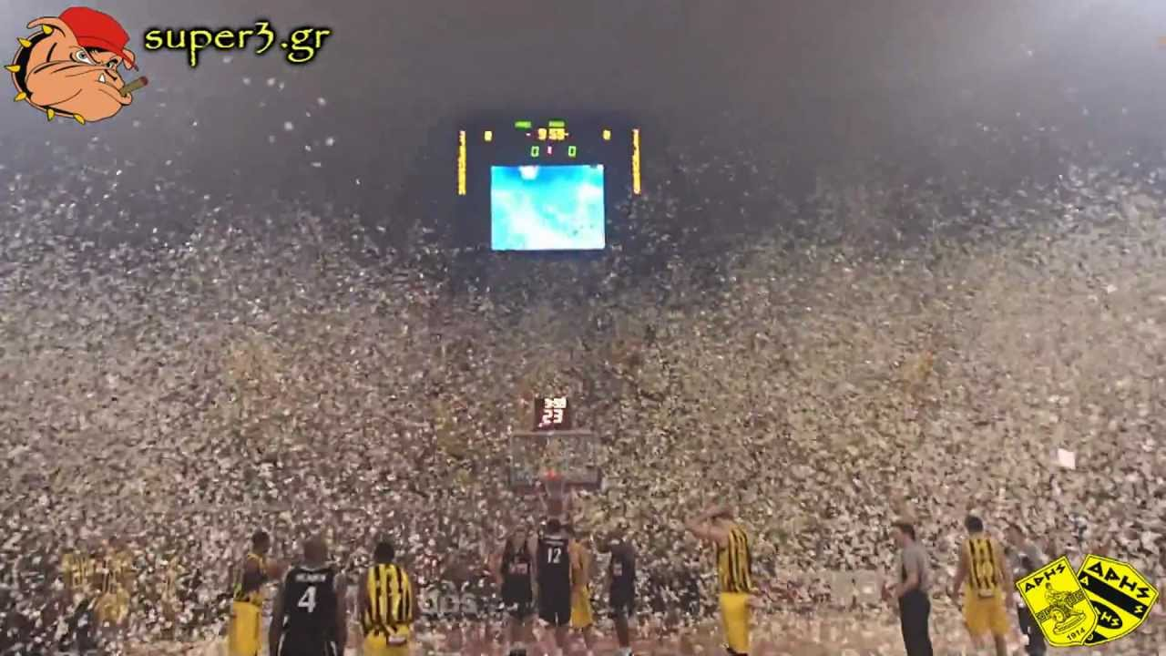 Download Aris Thessaloniki - Superb performance by ARIS' fans | SUPER3 Official