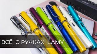 как заменить картридж в перьевой ручке Lamy