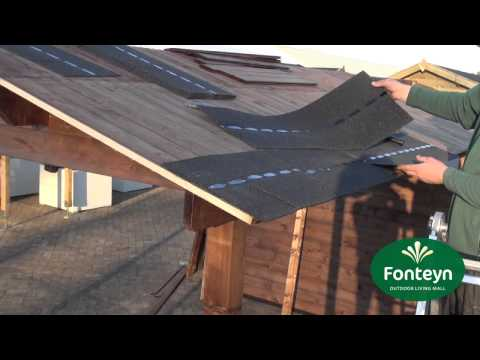 Zeer Montage van Dakshingels - Fonteyn Outdoor Living Mall - YouTube KJ29