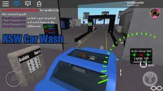 Roblox: KSW Carwash Factory (Bay 2)