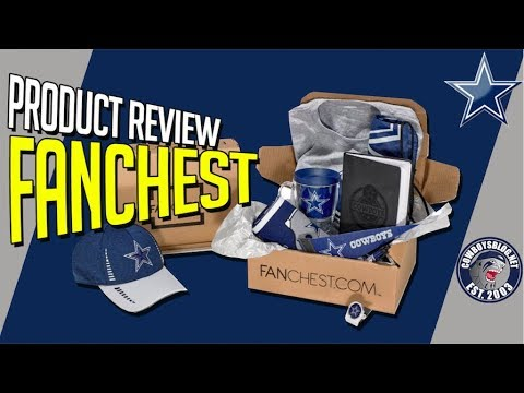 9bf61037 Fanchest Unboxing and Review 2nd Box | Dallas Cowboys Fanchest Review 2nd  Box