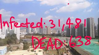 [LIVE] CORONAVIRUS UPDATE - infection and death toll...with live view out Chinese apartment window.