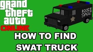 Game | GTA 5 How to Find Armored Truck SWAT Truck | GTA 5 How to Find Armored Truck SWAT Truck