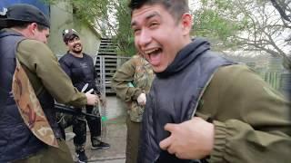 Franco Escamilla y la Diablo Squad en el gotcha