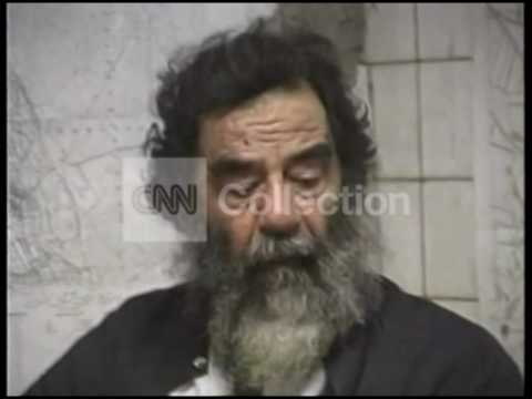 IRAQ SADDAM CAPTURED