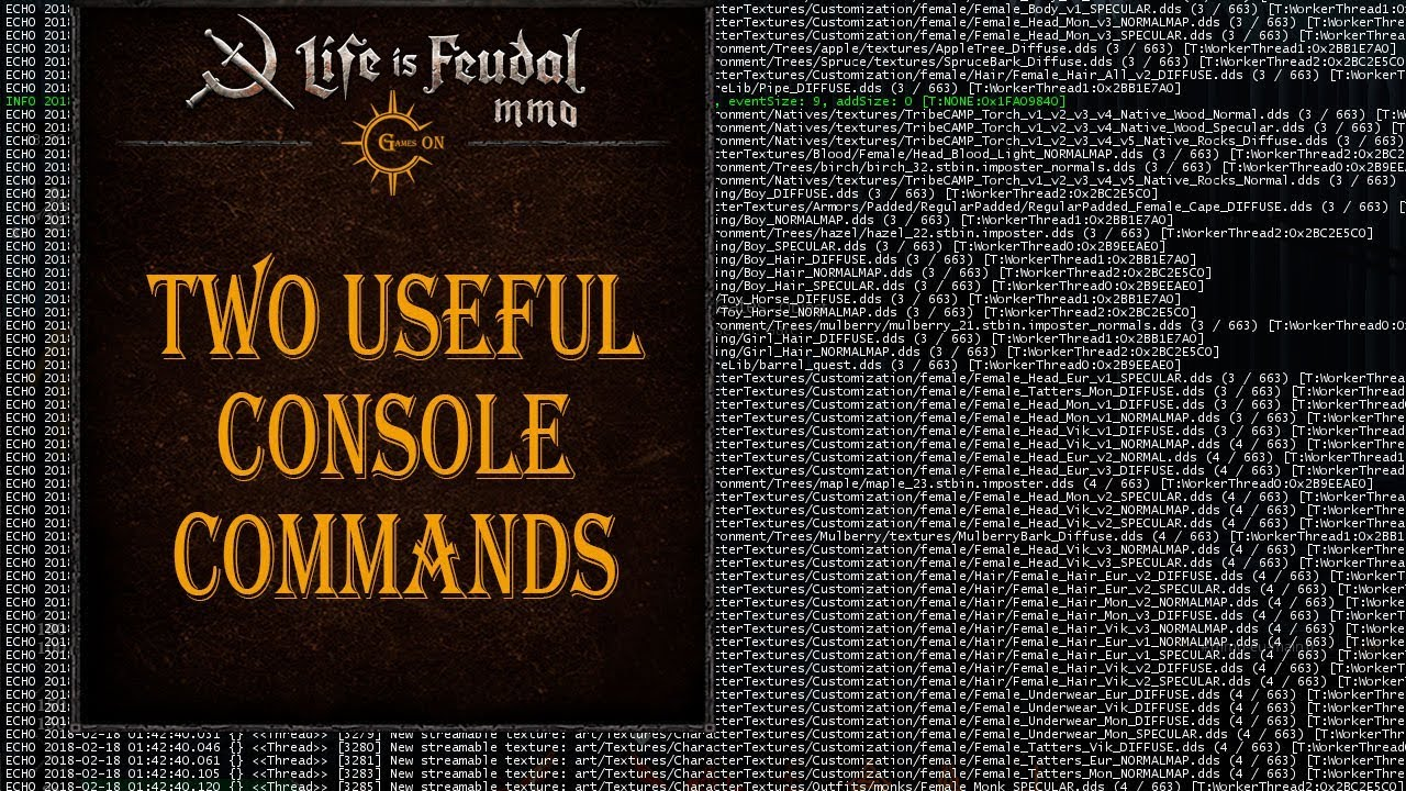 Life is feudal admin commands ролевая игра по книге бронте