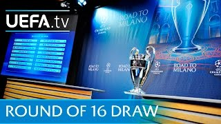 2015/16 UEFA Champions League round of 16 draw