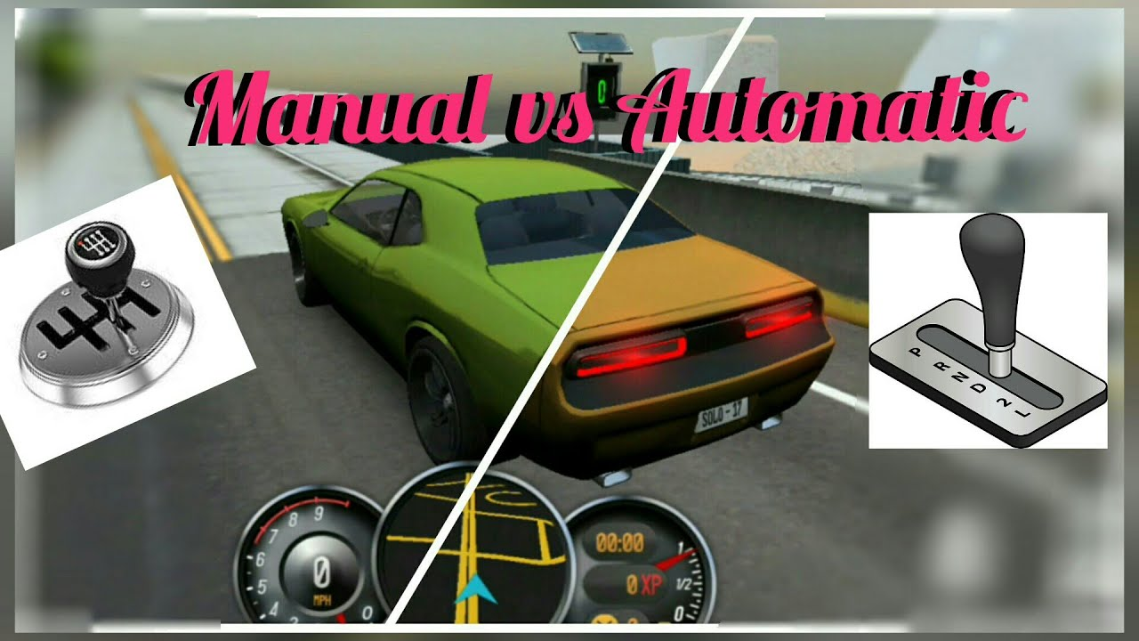 driving school 2017 manual transmission vs automatic transmission rh youtube com manual vs auto drag racing manual vs automatic race