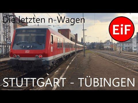 Die letzten n-Wagen - Teil 16: Stuttgart - Tübingen