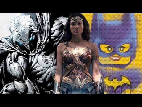 Justice League, Moon Knight, Golden Globes & more - Comic Book Movie Minute (Jan 9th)