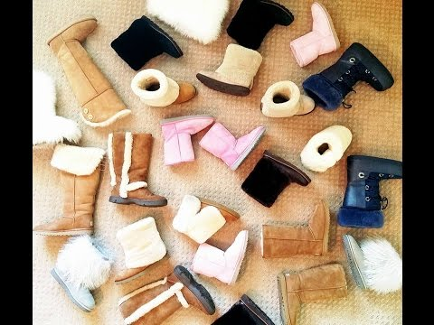 ♡ My Ugg Collection TRY ON video !! Requested Video  :* ♡