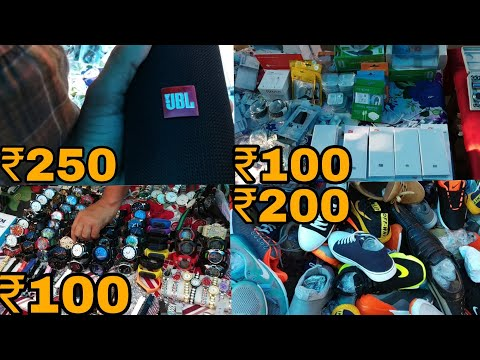 CHOR BAZAR DELHI | चोर बाजार | I PHONE, LAPTOP, CAMERA, SHOES | JAMA MASJID CHOR BAZAR