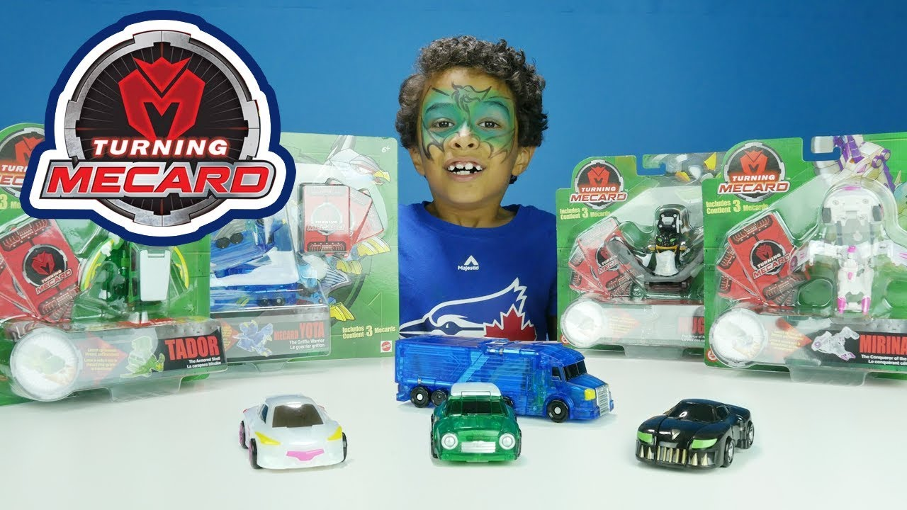 Huga Turning Mecard! New Transforming Cars Toys! Tottychocho