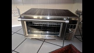 NuWave Bravo XL Smart Oven Countertop Convection Toaster Air Fryer Review