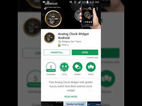 Analog Clock Widget Android - Find Your Best Clock And Widgets