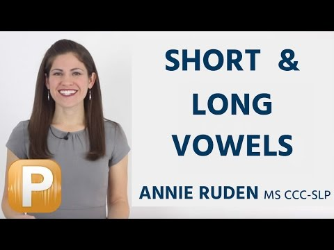 American English Vowels - Short And Long