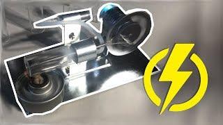 PRODUIRE DE L'ÉLECTRICITÉ GRATUITEMENT (Stirling machine)