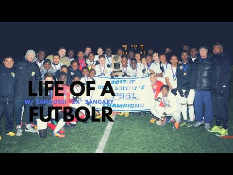 Life of a Futbolr: w/ NYC MLK HS All American Sanoussi Sangary