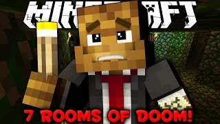 Minecraft - 7 Rooms of Doom Puzzle Map