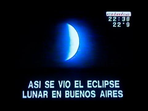Ese de Luna  8 nov. 2003  Cronica TV