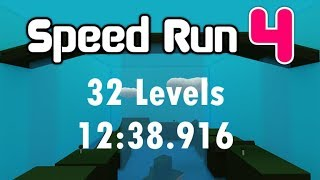 ROBLOX Speed Run 4 32 Levels in 12:38.916