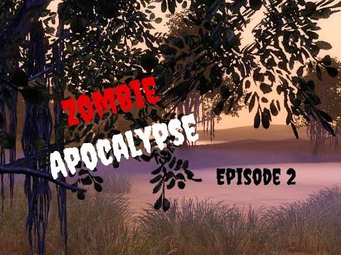 Zombie Apocalypse Episode 2 - Sims 3 Pets Story  