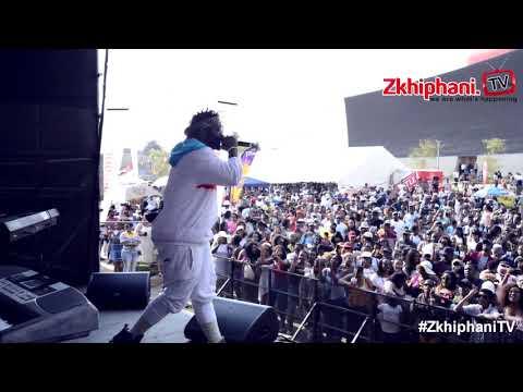Sjava performs Amafu at Kasi Food N Drink Festival